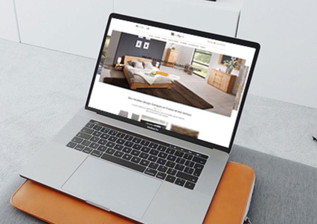 Site de vente en ligne de meubles design, Lukyna