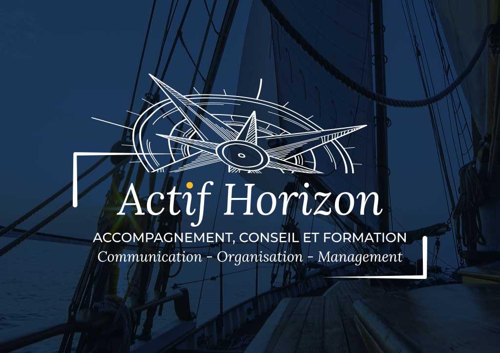 Logo formation en communication et management - Julie Landais, identité visuelle et site internet