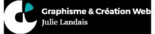 logo Julie Landais - création web et graphisme